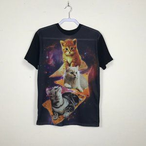 Galaxy cats on Doritos